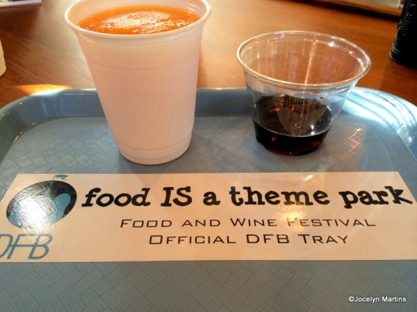 Tray with DFB Bumper Sticker! ;)