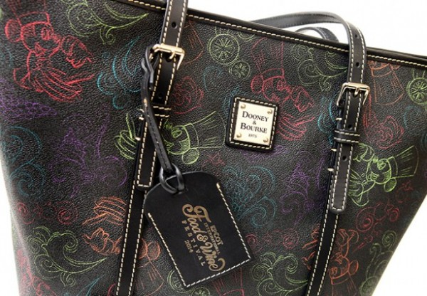 Dooney & Bourke Food and Wine Festival Pattern -- Up Close