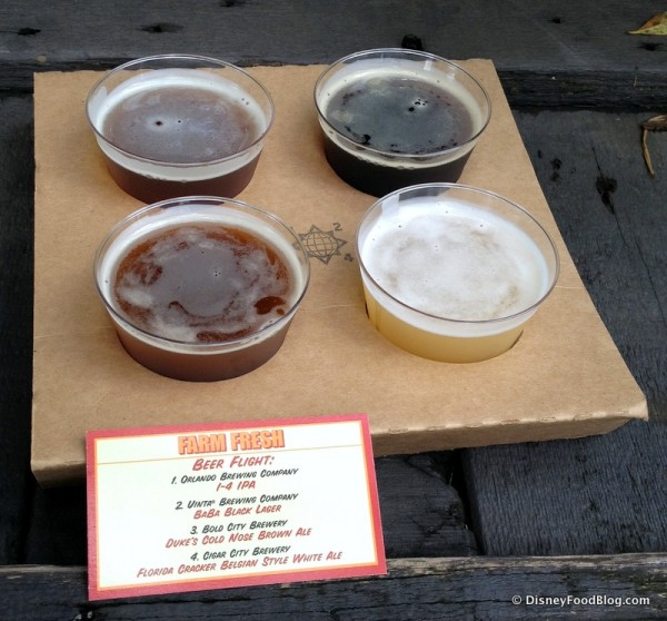 Farm Fresh Beer Flight