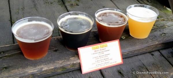 Farm Fresh Beer Flight