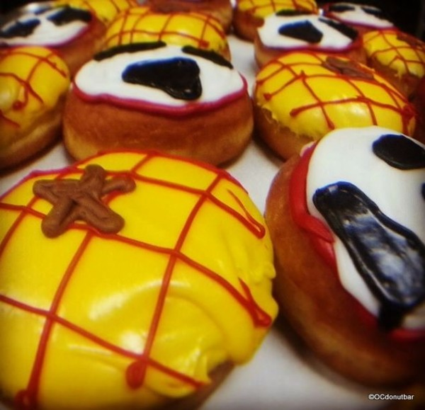 Jesse and Woody Toy Story Donuts