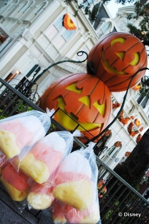 Candy Corn Cotton Candy