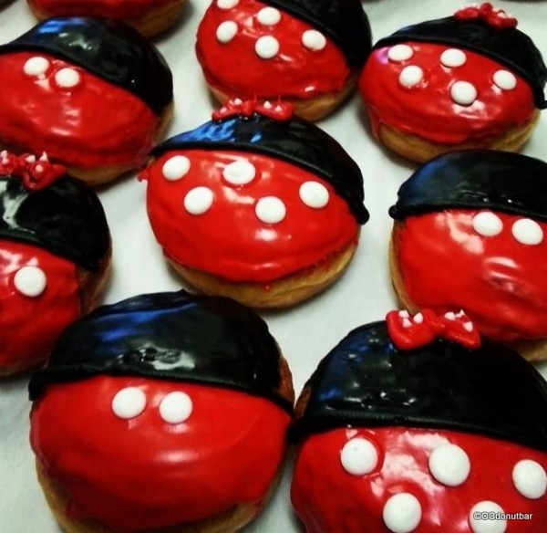Mickey and Minnie Donuts