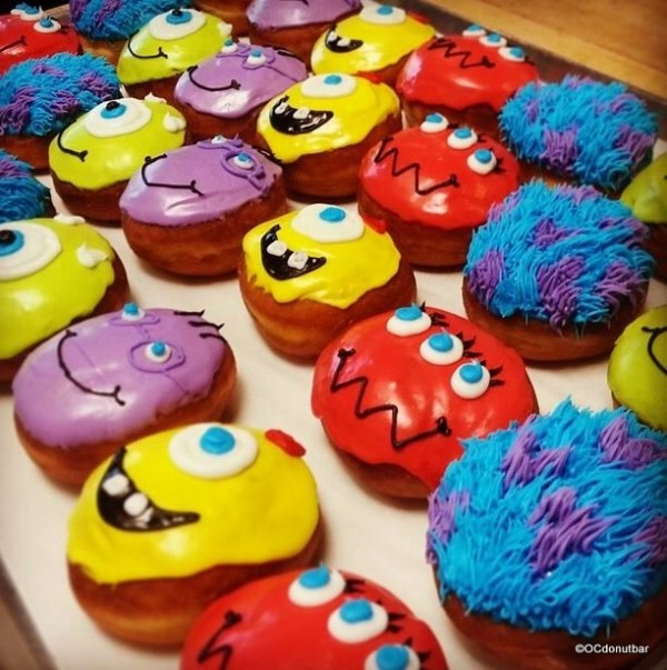 Monsters Inc. Donuts