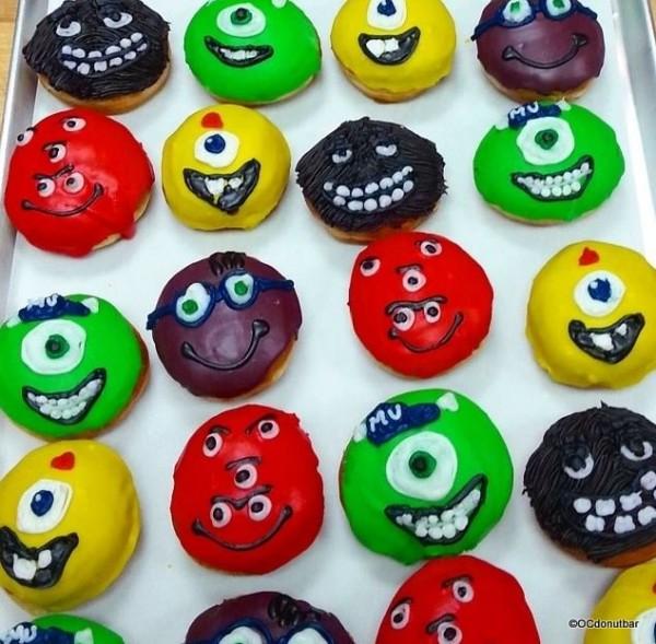 Monster's University Donuts