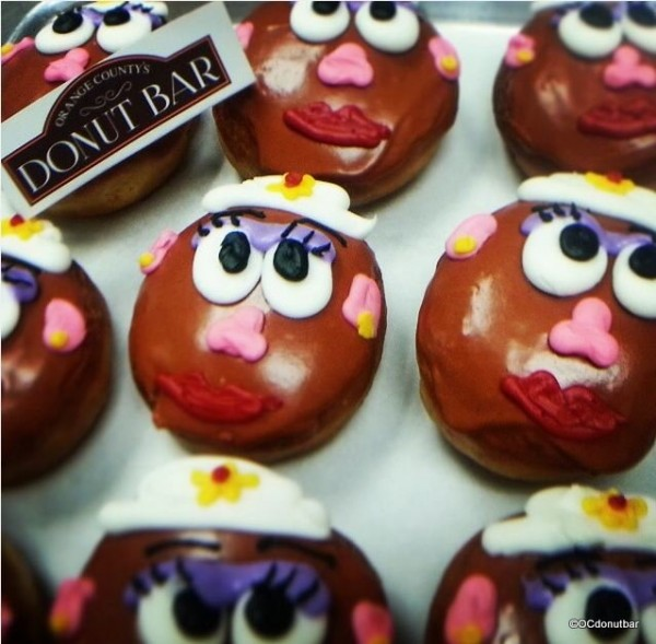 Mrs. Potato Head Donuts