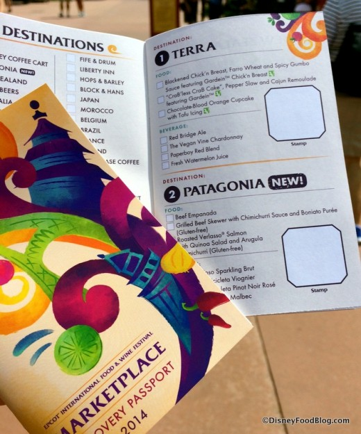 New Food and Wine Festival Passports