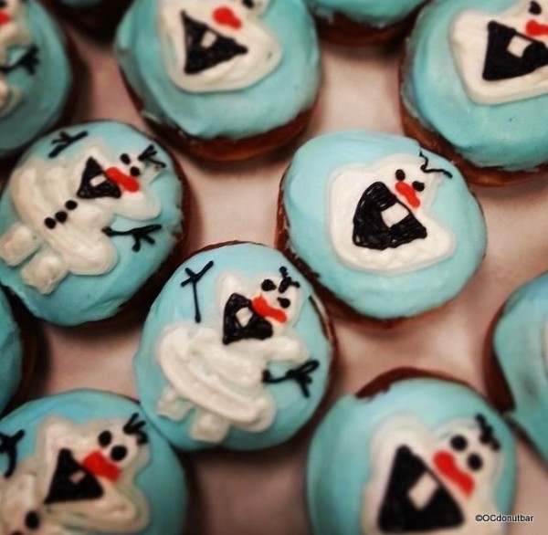MORE Olaf Donuts!