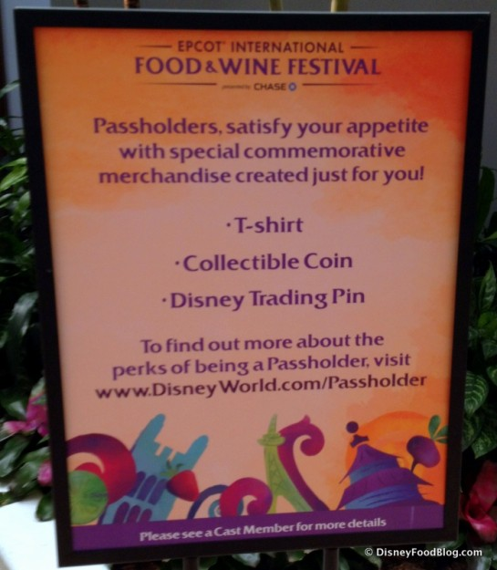 Passholder Exclusive Items Info
