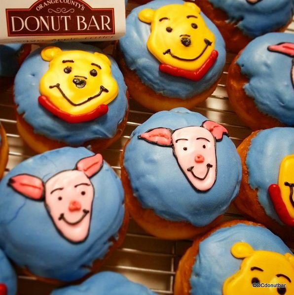 Winnie the Pooh and Piglet Donuts