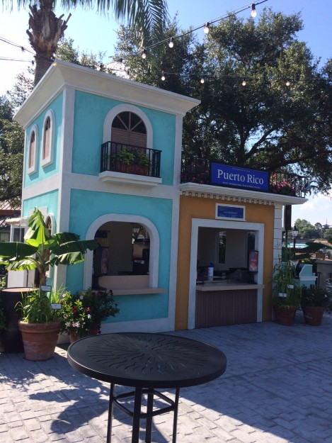We're Wondering if the Puerto Rico Marketplace Booth from the Food and Wine Festival May Do Double Duty as the Outdoor Kitchen During Flower and Garden!