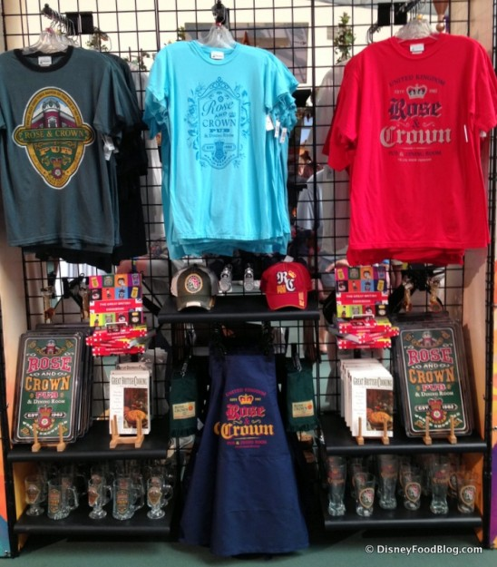 Rose & Crown Merchandise