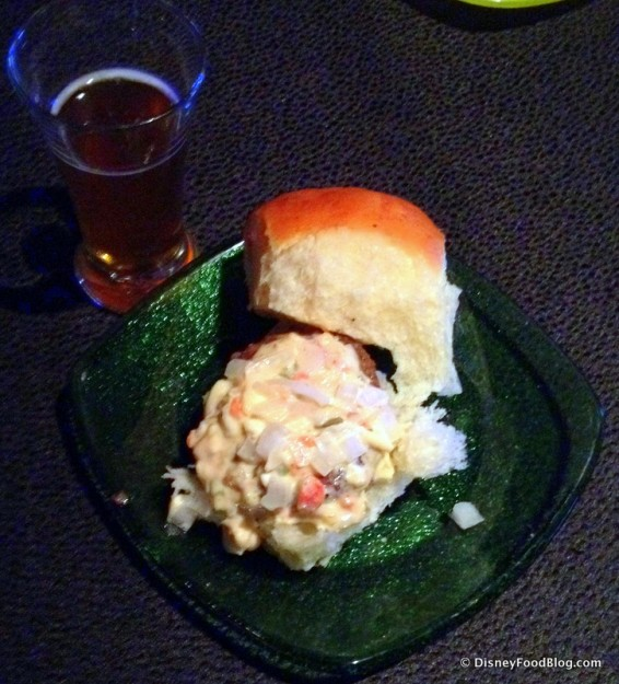 Florida Grass Fed Beef Slider with Pimento Cheese