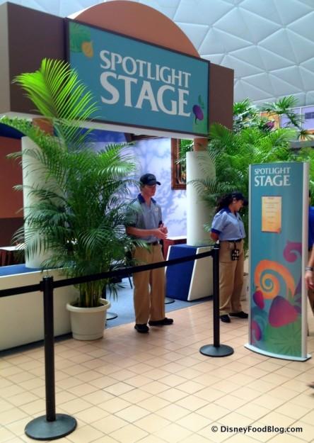 Spotlight Stage Entrance