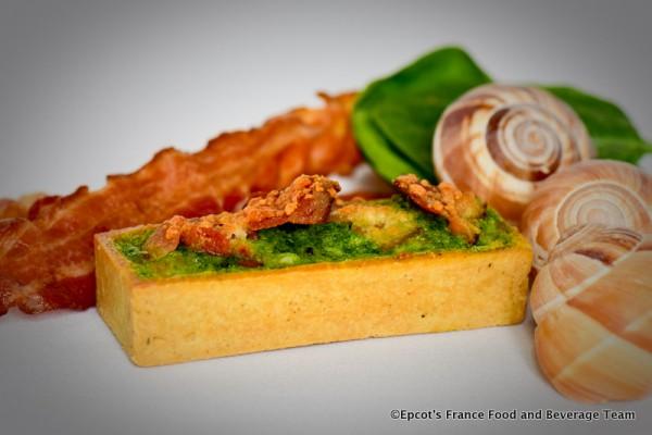 Tartelette aux escargots