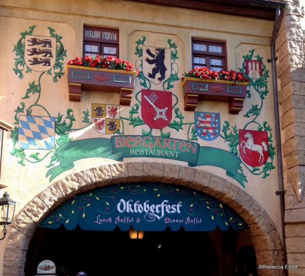 The Charming Biergarten Entry Way