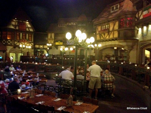 When You Step Into the Dining Room, You Are Transported to a Lively Oktoberfest Party