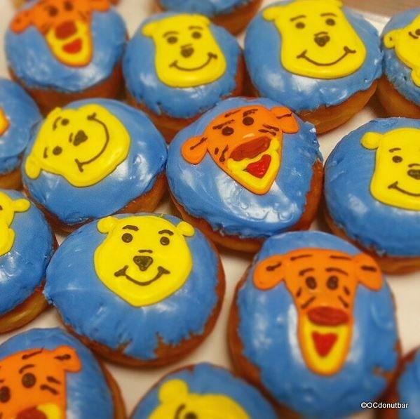 Winnie the Pooh & Tigger Donuts