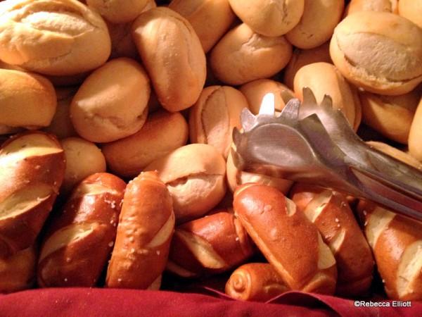 Yummy Rolls, Including Biergarten's Famous Pretzel Rolls