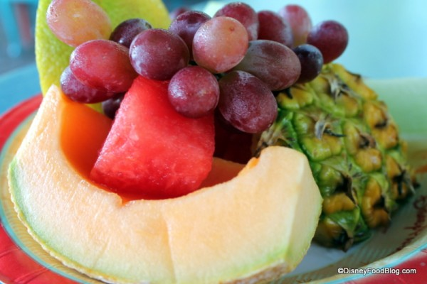 Fruit Plate close-up