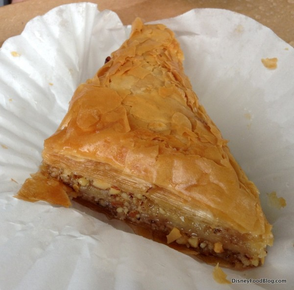 Baklava from Morocco booth