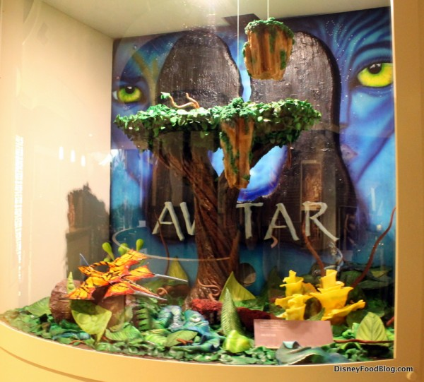 Avatar chocolate sculpture