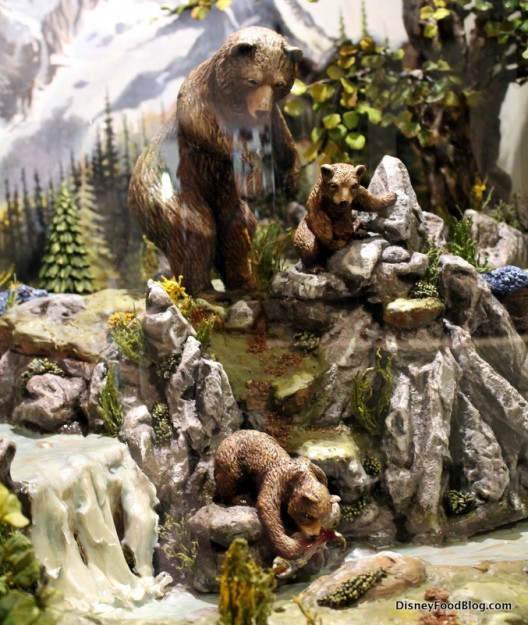 Bears chocolate sculpture