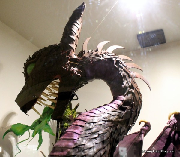 Maleficent chocolate sculpture