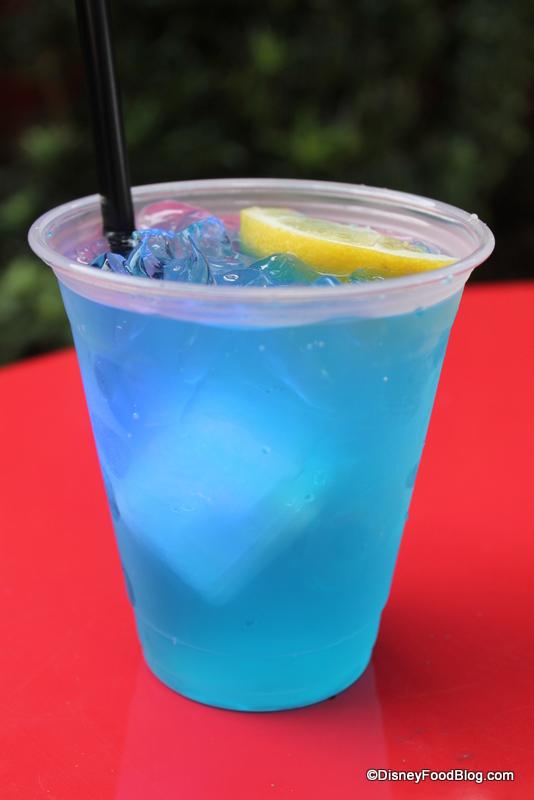 Blue Lemonade Review: strawberry daiquiri, blue skyy lemonade , and ...