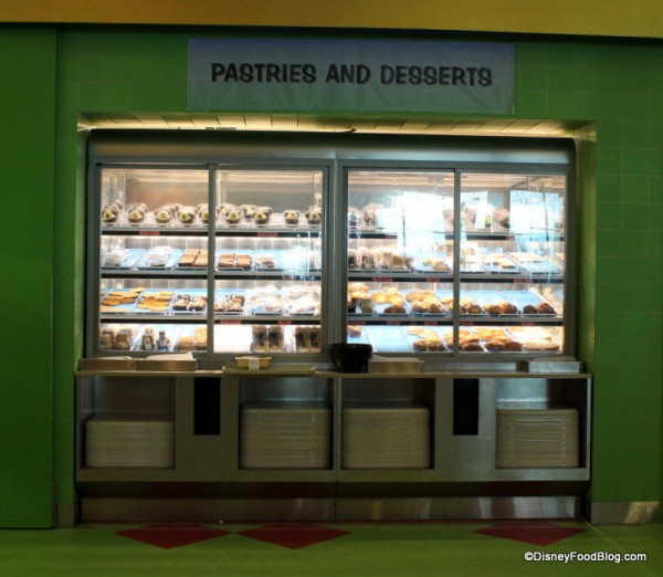 Pastries and Desserts Case