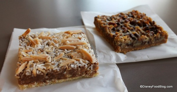 Toffee Shortbread Bar and Seven Layer Bar