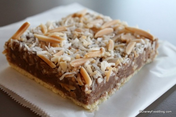 Toffee Shortbread Bar