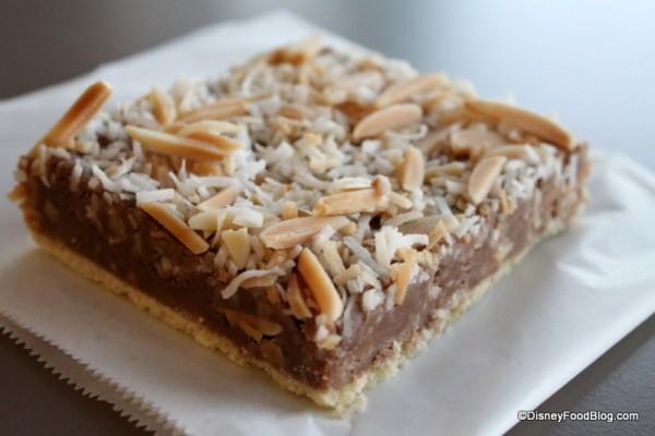 Toffee Shortbread Bar