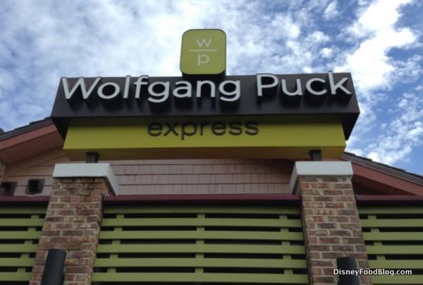 Wolfgang Puck Express at the Marketplace