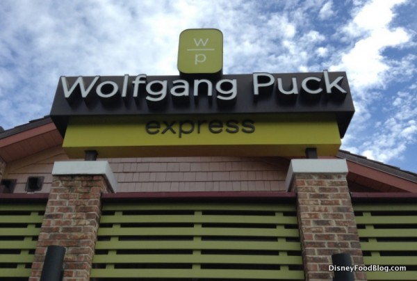 Wolfgang Puck Express at the Marketplace