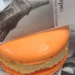 First Look! Pumpkin Spice Macaron Ice Cream Sandwich Debuts in Epcot's France