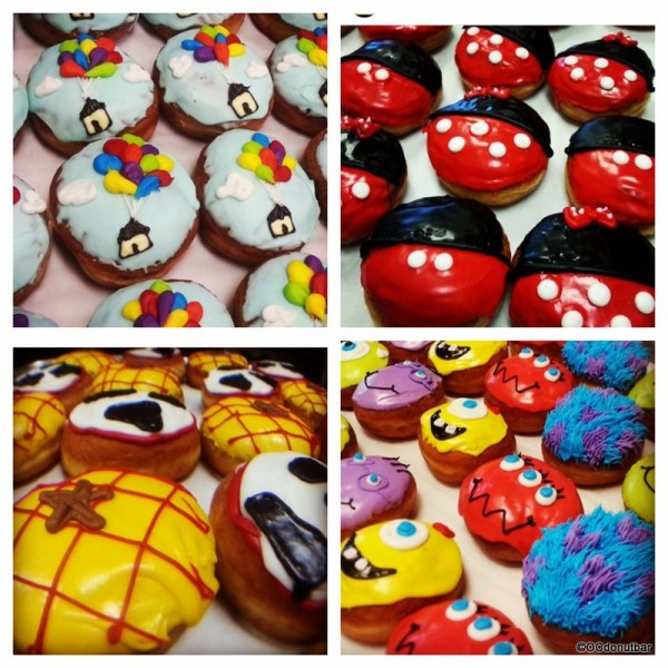 Disney Themed Donuts!