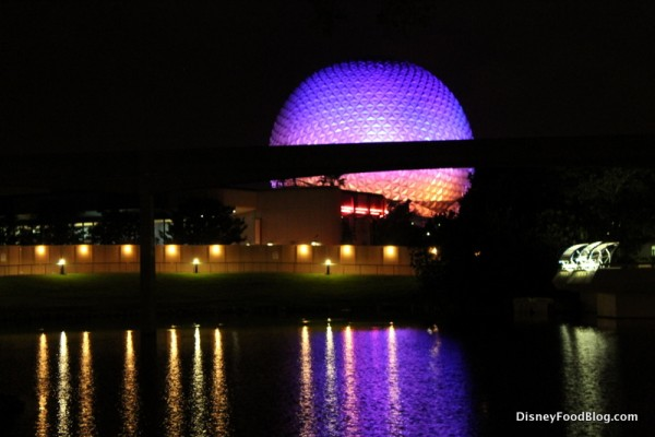 Good night, EPCOT