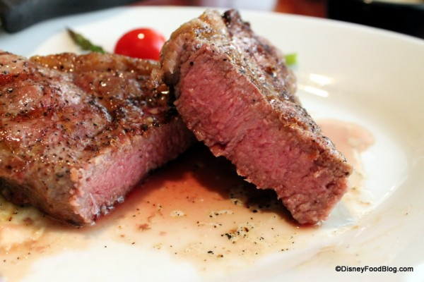 Steak cross-section