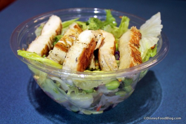 Asian Salad with Chicken