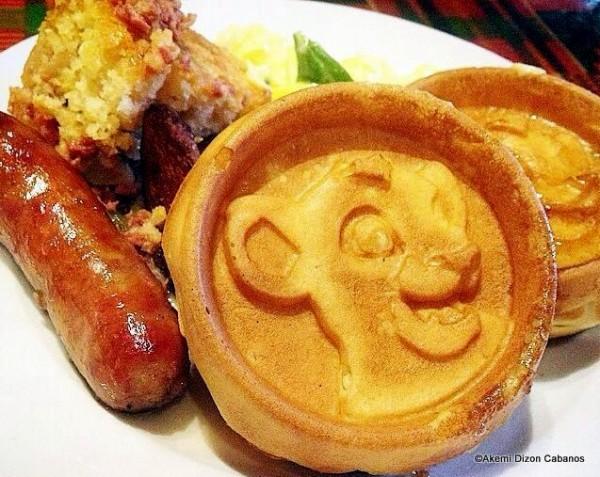 Lion King Waffles at Boma