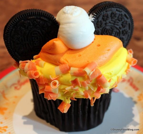 Candy Corn Cupcake at The Mara in Disney's Animal Kingdom Lodge