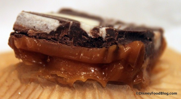Caramel Toffee -- Side View