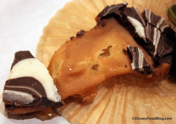 Caramel Toffee -- Stretchy Caramel Toffee Inside