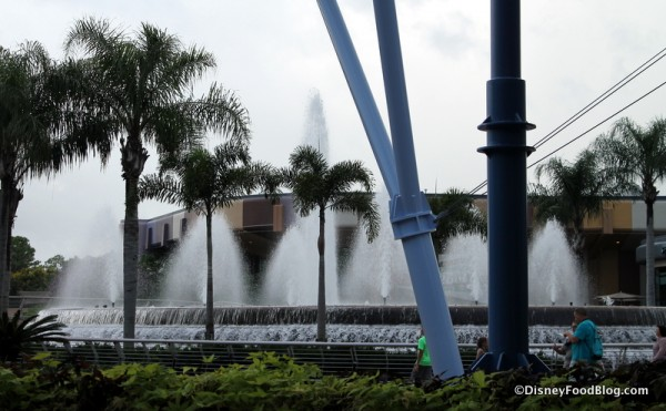 View of the Fountains
