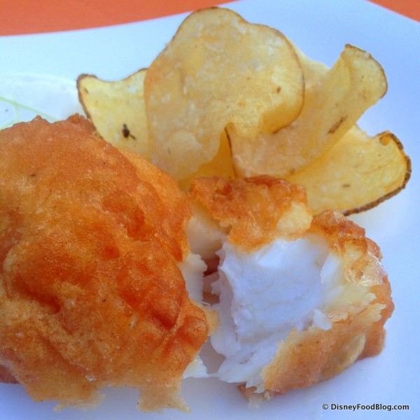Fish and Chips -- Inside