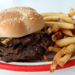 Review: New French Dip Burger at Epcot's Electric Umbrella