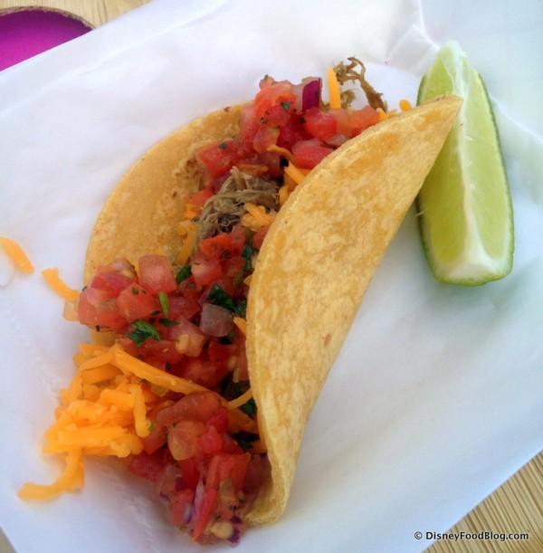 My Taco -- Yum!