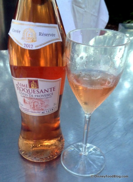 A Glass of Rose for Drink Pink