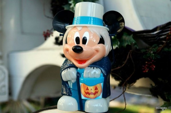 Mickey as the Hatbox Ghost Premium Popcorn Bucket